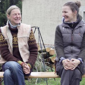 Heilpraktikerin Antje Kierstein und die Naturpädagogin Andrea Künnemann